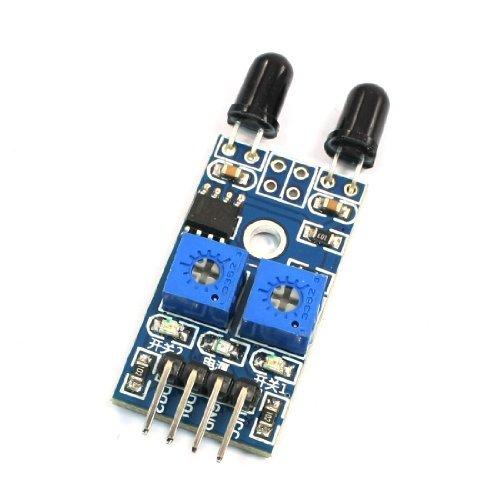 Amazon.com: eDealMax Módulo Sensor 3.3-12V Ajustable Sensible 2 Canal de Llama Para MCU: Electronics
