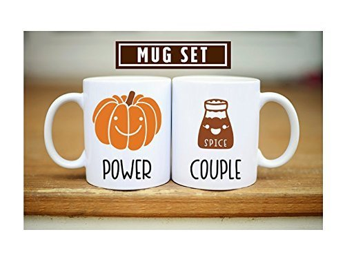 Fall Power Couple Mug, Pumpkin Spice Mug Set, Pumpkin Season Mug, Pumpkin Spice Power Couple, Pumpkin Spice Lover, Coffee Tea Mug, 11oz 15oz, Gift for Friend