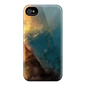 Awesome Solar Space Flip Cases With Fashion Design For Iphone 4/4s