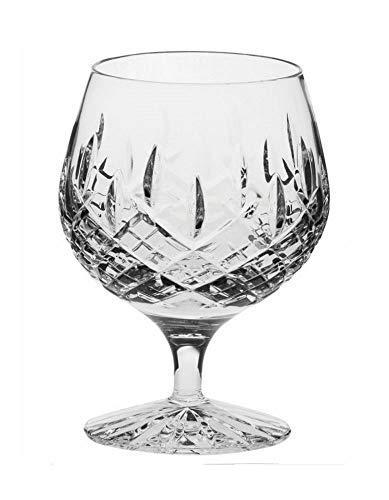 Royal Scot Crystal Hand Cut Crystal Single 12oz Crystal Brandy Glass in London Design with Presentation Box | Scottish Crystal