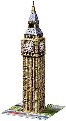 Puzzle 3D Ravensburger 12554 Big Ben 216 Stücke ab 10 Jahre Puzzles & Geduldspiele