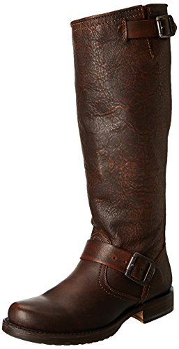 Frye Veronica Slouch Wide Calf Donna Pelle Stivalo