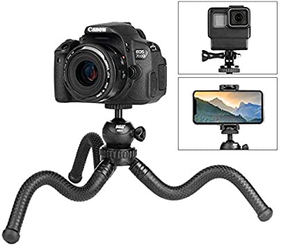 MiPao,Flexible Pulpo Trípode Vlog Video Monopod Selfie Stick W ...