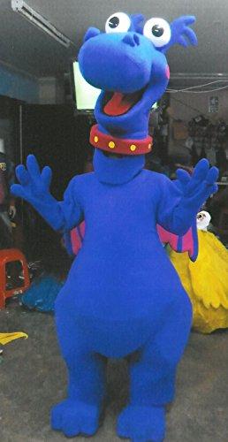 Dr Mcstuffin Stuffy the Dragon Mascot Costume Adult Costume - Dragon Adult Mascot Costumes