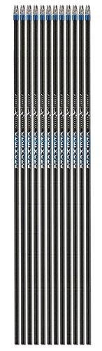Carbon Express Maxima Blue Streak Select Carbon Target Arrow Shaft, Size 250, - Arrow Select Shafts