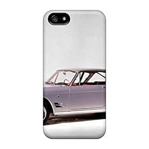 Iphone 5/5s Hard Back With Bumper Silicone Gel Tpu Case Cover Fiat 2300 Coupe 1961 1962