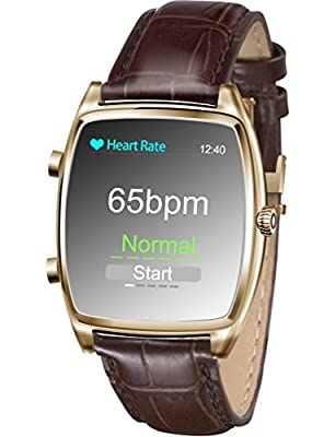 KESSDER H-0NE Smart Blood Pressure Monitor Watch with Fitness Tracker ,Heart Rate Monitor, Activity and Sleep Monitor, Call Notification,Message Push,Water Proof ,App for Android and IOS