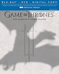 Cover Image for 'Game of Thrones: The Complete Third Season (Blu-ray/DVD Combo + Digital Copy)'