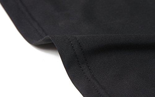 ZKOO Tapa Camiseta Chaleco Deportes Para Mujeres Del Aptitud De Yoga Que Se Ejecutan Negro