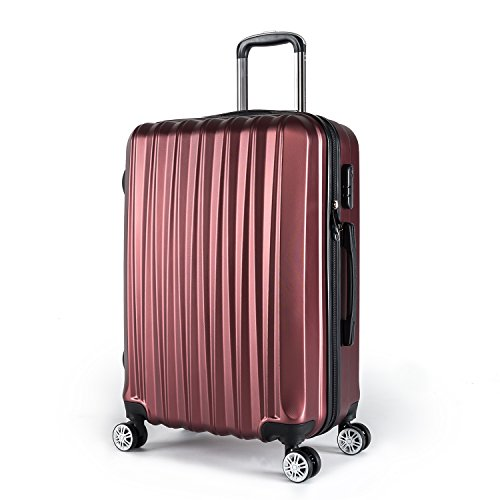 Compaclite Voyager ABS + PC Spinner 20 inch/Strong Lightweight Luggage, Burgundy Review