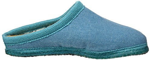 Haflinger Kreta - Zapatillas de casa Unisex adulto Blau (reseda)