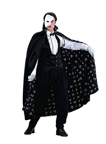 Tv Show Costume Ideas For Couples (The Phantom of the Opera Adult Costume - Medium)