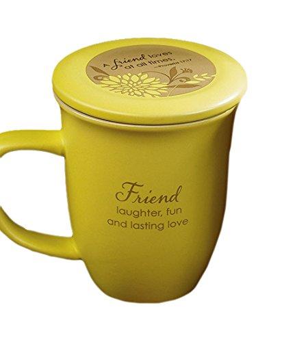 Abbey Gift   Friend Mug and Coaster Set, 4 by 4.38