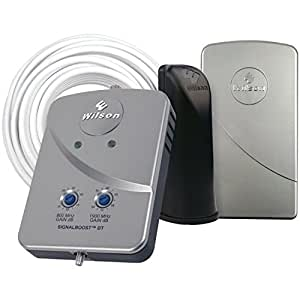 Wilson Electronics DT Cell Phone Signal Booster for Small Home or Office, Gray (Retail Packaging)