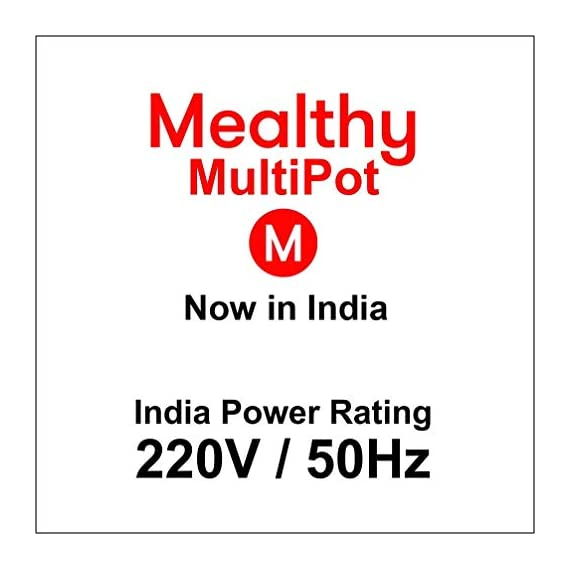 Mealthy MultiPot 9-in-1 Programmable Electric Pressure Cooker with Stainless Steel Pot, Steamer Basket and Instant Access to Mealthy Recipe App. Pressure Cook, Slow Cook, Saute & More (3 litres) 6