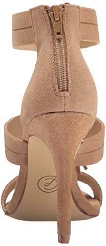 Chinese Sandal Speak Women's Camel Laundry Dress Suede Easy qw4PWqX5r