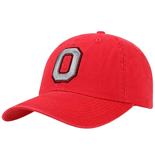 (Top of the World Ohio State Buckeyes Men's Hat Icon, Red, Adjustable)