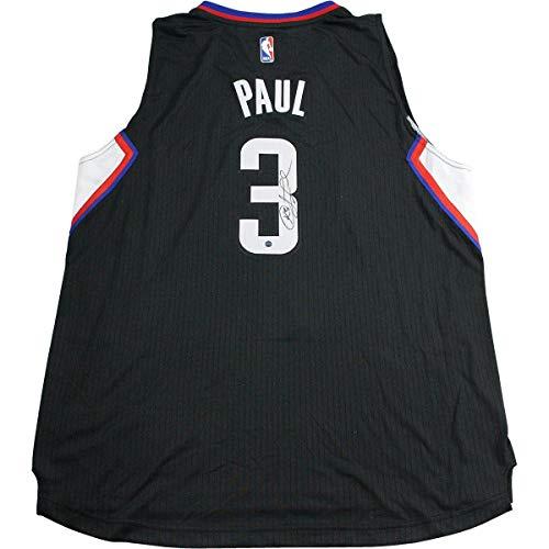 Chris Paul Signed Black LA Clippers Swingman Jersey - Steiner Sports Certified - Autographed NBA Jerseys
