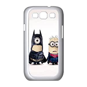 Batman and Superman Samsung Galaxy S3 9300 Cell Phone Case White DIY present pjz003_6478600