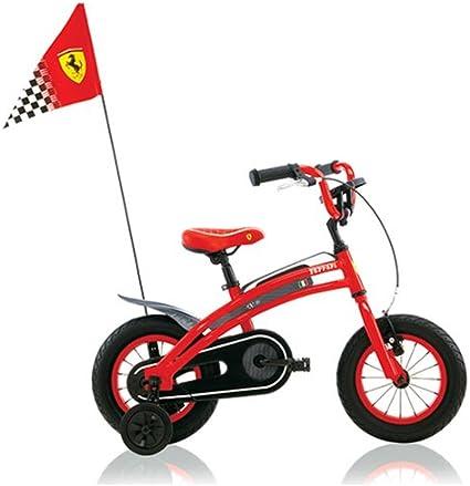 Amazon Com Biciclo Turbo Usa Ferrari Cx 10 12 Inch Kids Bike Childrens Bicycles Sports Outdoors