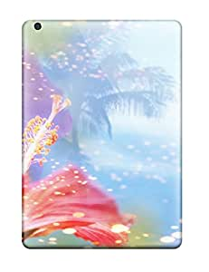 New Ipad Air Cases Covers Casing(animated Flowers)