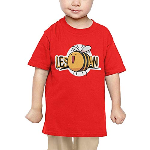 Price comparison product image Pipi66xiami Boys Lesbian Bee LGBT Equality Unisex Infants Crew Neck Short Sleeve Tee