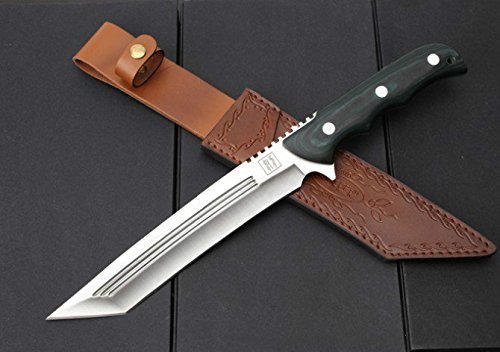 REGULUS KNIFE sheath knife Natural wood handle full tang NO.SA 614 [Parallel import goods]