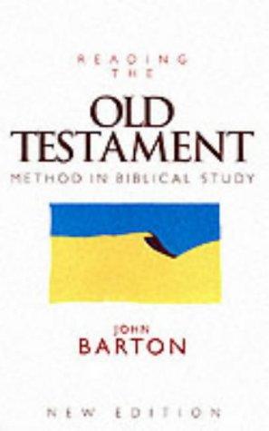 barton reading the old testament - 2