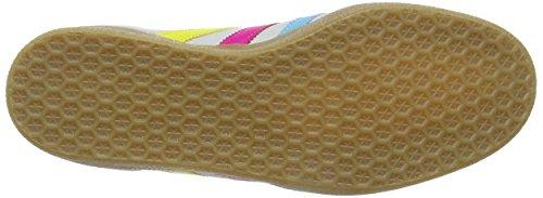 adidas , Herren Skateboardschuhe WHITE CYAN PINK