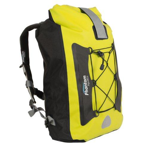 Phantom Aquatics Walrus 25 Premium Waterproof Backpack Dry Bag, Yellow