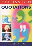 Quotations, Brian Glancey, 0004722876
