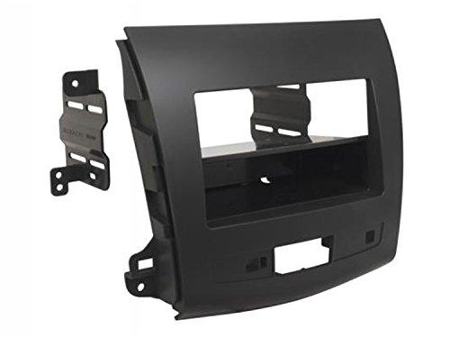(SCOSCHE MI3015B 2007-13 Mitsubishi Outlander Double DIN or DIN w/Pocket Install Dash Kit)