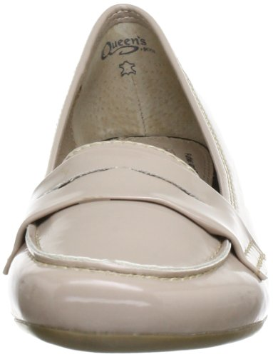 Beige 10 Hcl0402 Beige para Nude Nude plano Ballet Queen mujer zwAq0Ad