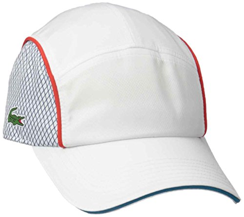 194b7d831fb Lacoste Men s T1 6 Panel Taffeta Cap