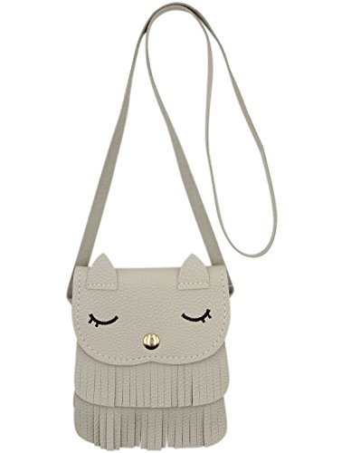 Cute Purses for girls, Cat Tassel Shoulder Crossbody Satchel Mini Coin Purse,S (Purse Childrens)