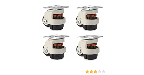 Set of 4 Leveling Casters with 2.5