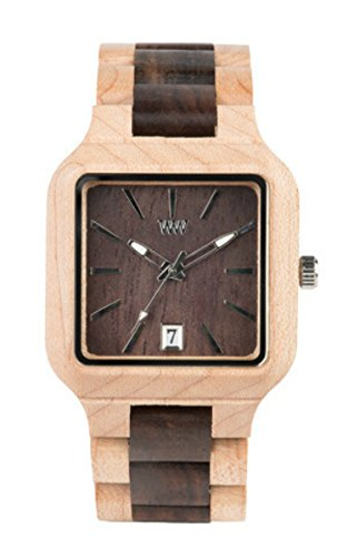 WeWood Metis Beige/Chocolate Wooden Watch