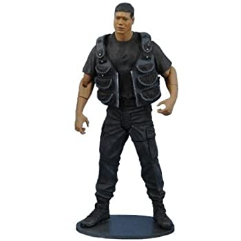 Diamond Select Toys Stargate SG-1 Series 2 Action Figure Black Ops Teal'c