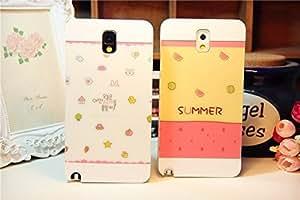 Galaxy S3 Case, Summer Cutie White Back Case Cover for Samsung Galaxy S3 i9300, 1 piece, Watermelon