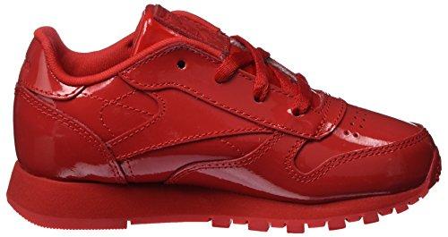 primal Niños Deporte Reebok Classic Unisex Zapatillas Red Rojo Patent De 000 Leather q0qpwnxzH