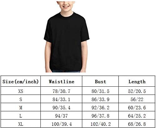 Joess Ki-Rbys T-Shirt 3D Full-Width Printing for Teenager Boys Girls Kids Summer Polyester Shirts
