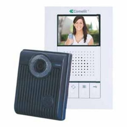 Expandable Video Intercom Kit (COMELIT HFX700M COLOR HANDS FREE VIDEO INTERCOM KIT)