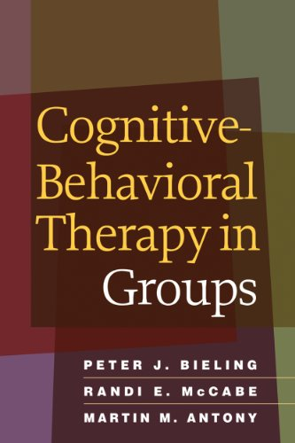 Download Cognitive-Behavioral Therapy in Groups Pdf