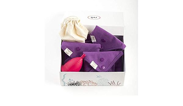 GU Woman - Pack de Copa Menstrual Talla M + Compresas ...