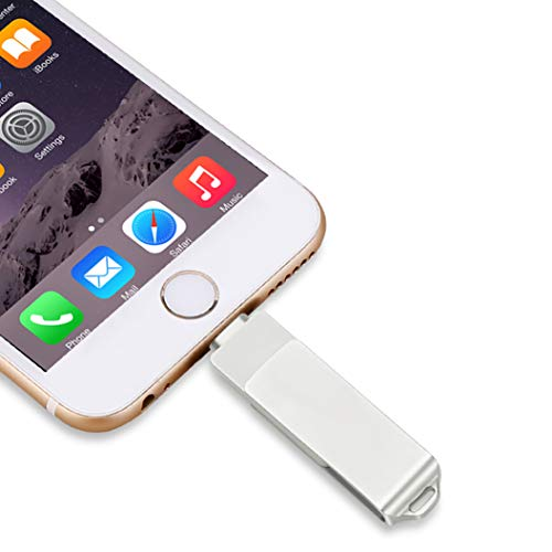 USB 3.0 Flash Drive for iPhone iOS Flash Drive Pen Drive Memory Stick External Storage for iPad,iPod,iOS,PC,Mac,Android Device (256GB)