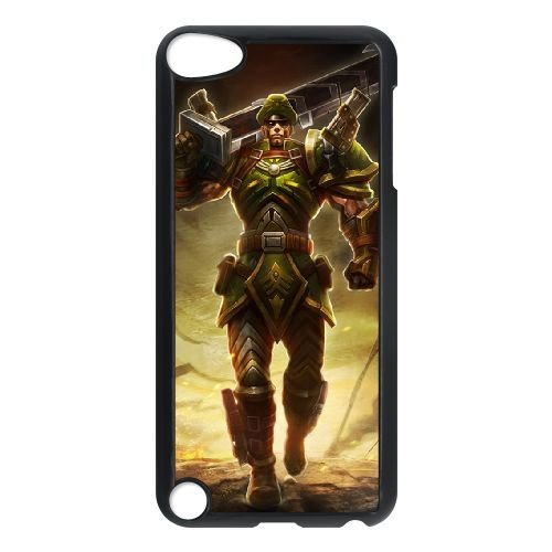iPod Touch 5 Case Black League of Legends Commando Jarvan IV ...