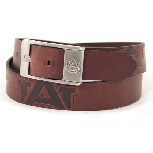 NCAA Auburn Tigers Brandish Leather Belt - Brown (32)