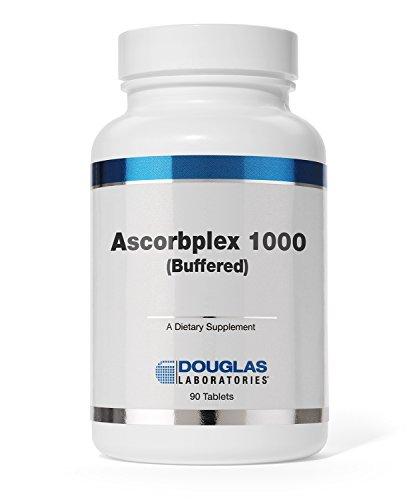 - Douglas Laboratories - Ascorbplex 1000 (Buffered) - 100% Pure Vitamin C Buffered with Calcium, Magnesium and Potassium - 180 Tablets