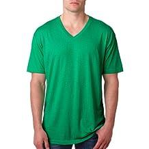 Next Level Men's Ribbed Knit V-Neck T-Shirt ( Pack )