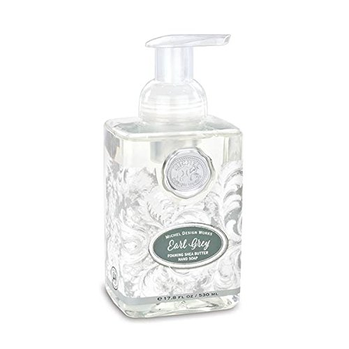 Michel Design Works Scented Foaming Hand Soap, Earl Grey, 1 Unit, Gray